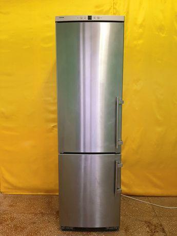 Холодильник Liebherr нержавейка высота 200см,Германия