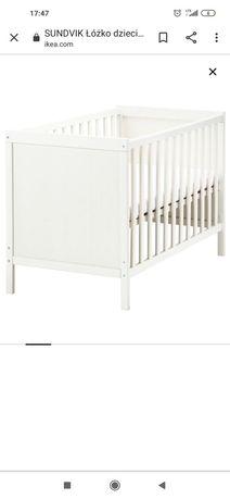 Łóżeczko niemowlęce z materacem 120x60