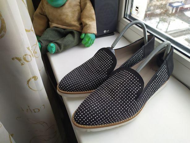 Туфли,мокасины,фирма Perlato,стелька 25 см