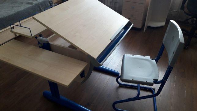 Парта-трансформер Дэми (к-т)(стол+стул)