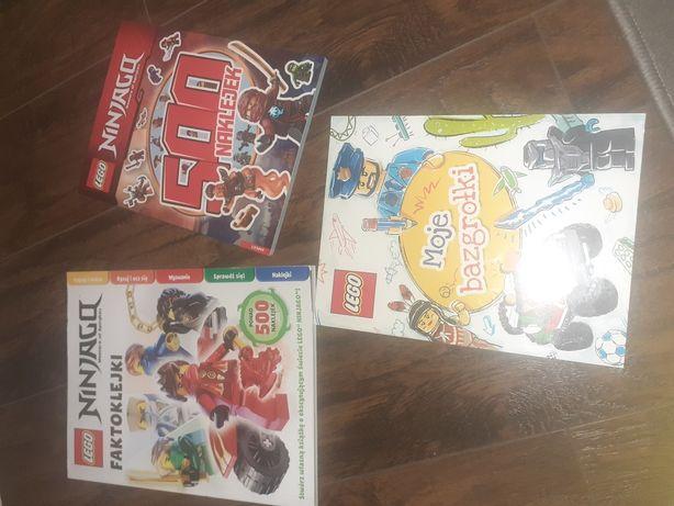 Nowe książeczki lego  z naklejkami