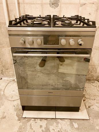 Kuchenka gazowo-elektryczna, piekarnik 60 cm