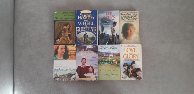 Książki PO ANGIELSKU angielski books; MacLaine, Shaw,Seton,Howatch itp