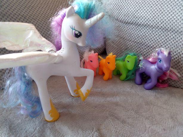 Zestaw kucyków ponny, księżniczka Celestia konik interaktywny