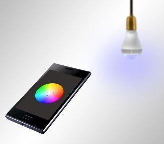 Żarówka LED Bluetooth, RGB, grająca Smartlight z głośnikiem mt3147