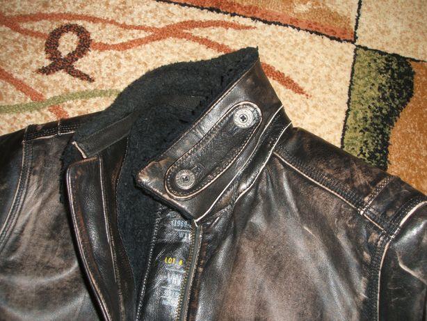 Piękna kurtka skórzana GAP vintage tommy diesel ralph avirex TOP GUN