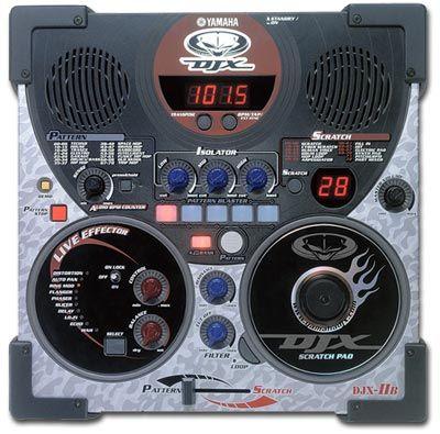 Грувбокс Yamaha DJX 2B