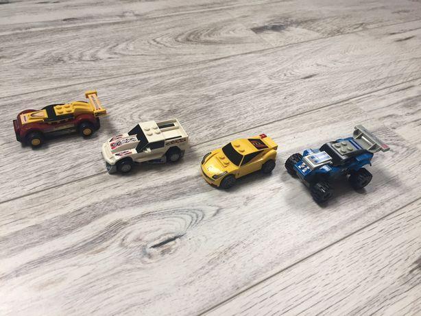 4 samochody lego racers