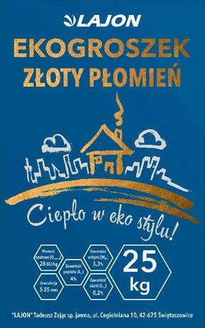 Ekogroszek workowany Węgiel 28Mj/kg Pyskowice, Gliwice, Zabrze, Bytom