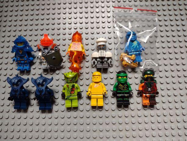 LEGO Ninjago nexo knights space figurki mix minifigurki