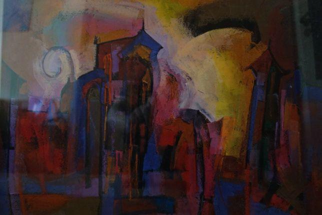 Obraz 70 x 50 cm, pastel - autor Ryszard Miłek - okazja !!!