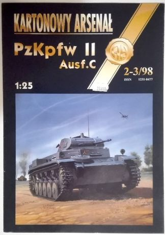 Kartonowy Arsenał 2-3/98 (Haliński) PzKpFw II Ausf.C