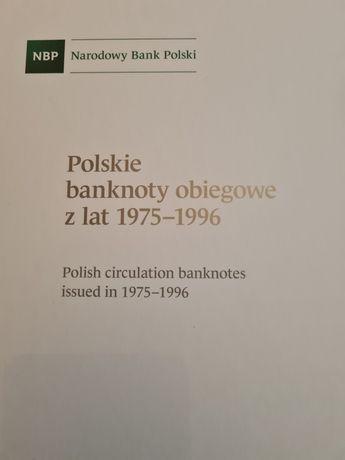 Sprzedam album z banknotami PRL, od 10zł do 100000zł, okazja