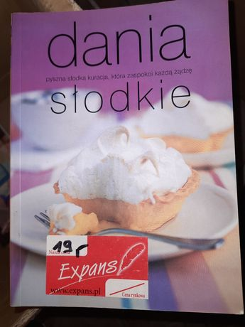 Dania słodkie książka