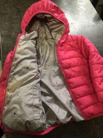 Двухсторонняя курточка на 2-3 года