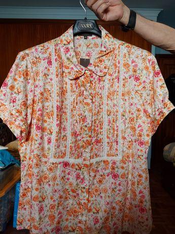 Blusa 100% algodão,  n°48, marca Zendra do El Corte Inglês