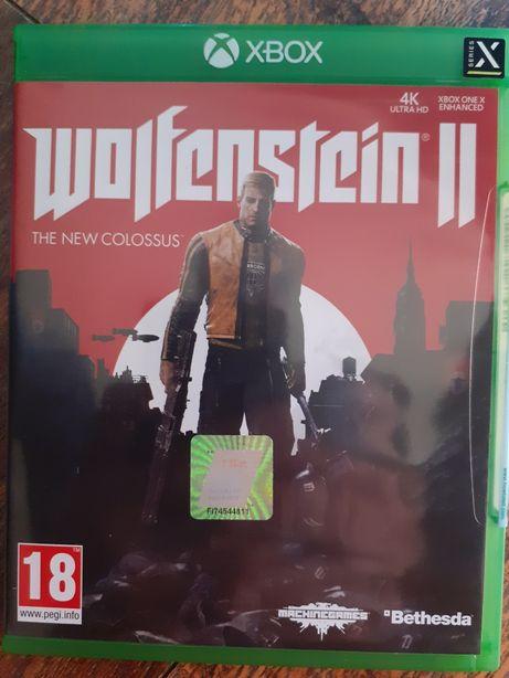 Wolfenstein II gra na Xbox one 4K HDR