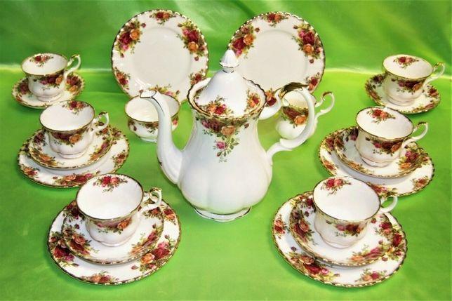 Royal albert OLD COUNTRY ROSES чайний сервиз Англия, 1962р