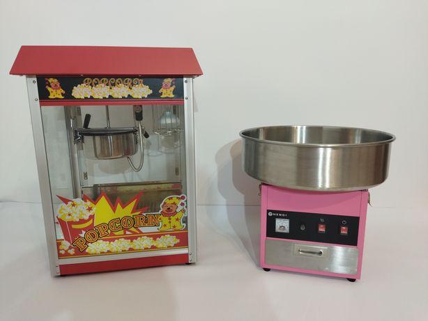Wynajem maszyny do popcornu i waty cukrowej