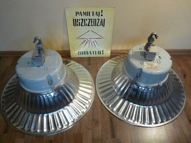 zabytkowe fabryczne lampy do baru lub loftu. Industrial, vintage,retro