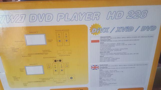 DVD PLAYER -odtwarzacz w języku polskim