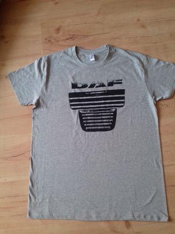 DAF XF 105, T-Shirt szary L -XL