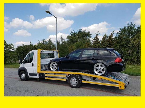 *TANIO *AUTOLAWETA* UE pomoc drogowa 24H A4 S8 Niemcy Laweta-Brzeg