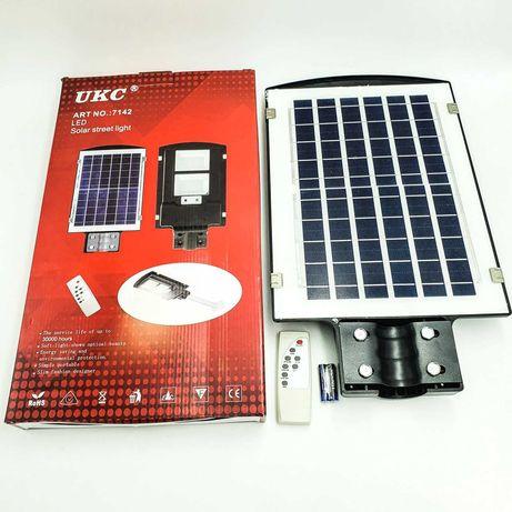уличный led фонарь, солнечная панель пульт, автономный 90W 2VPP