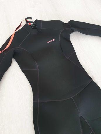 Fato Surf Olaian mulher 4/3mm preto (tamanho S)