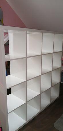 Ikea Kallax 4x4 połysk regał