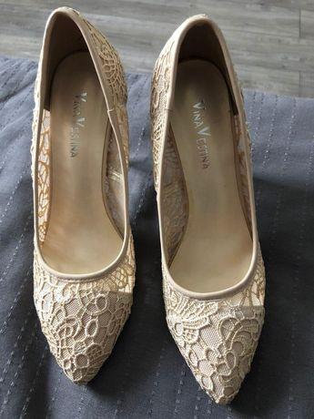 Свадебные Туфли ажурные