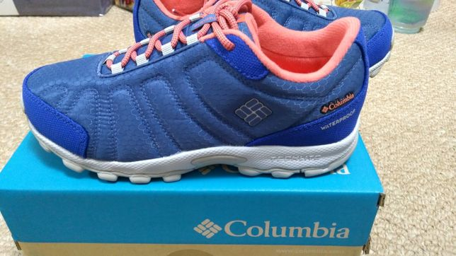 Новые кроссовки Columbia Firecamp Sledder II waterproof
