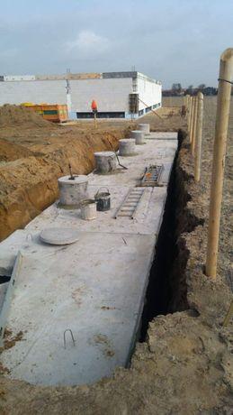 Betonowy Zbiornik na gnojowice szambo betonowe odchody ścieki
