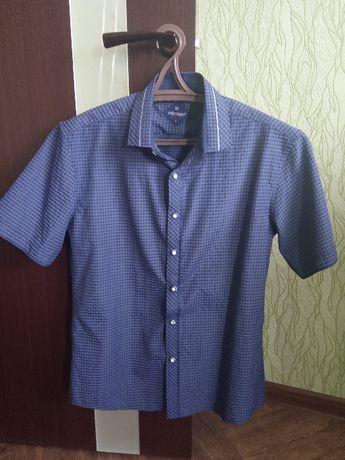 Рубашка мужская НОВАЯ (короткий рукав)