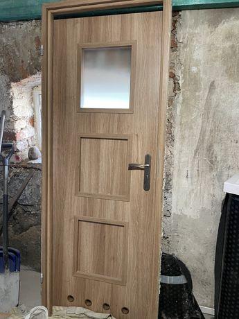 Drzwi wewnętrzne łazienkowe 70 szer