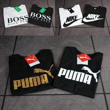 Koszulki Damskie i Męskie logo Nike Puma Boss