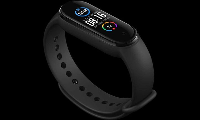 Smartband Xiaomi Mi Band 5 Black  ( Gwarancja 24 miesieczna )