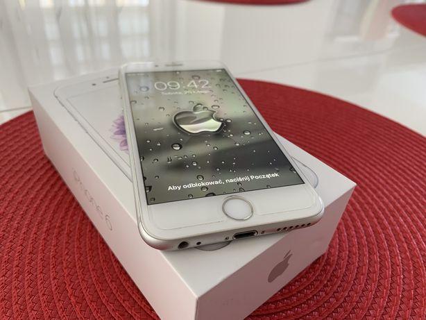 iPhone 6 16GB Silver Stan idealny !