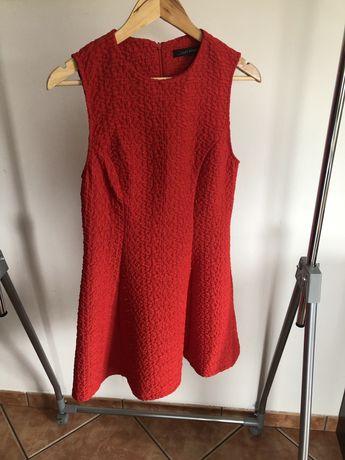 Vestido Vermelho - Zara