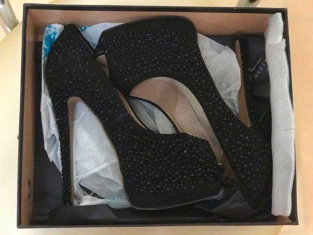 Новые замшевые женские туфли бренд Medea качество