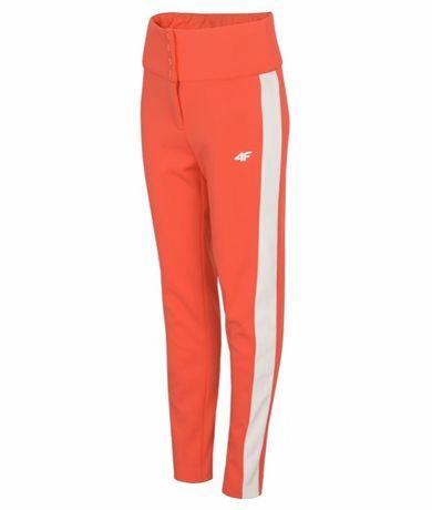 Spodnie narciarskie damskie 4f SPDN101 - czerwony neon xs