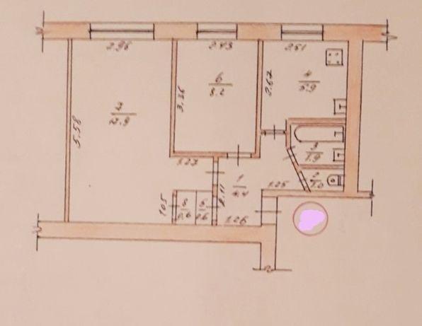 Продається 2 кімнатна квартира на Східній