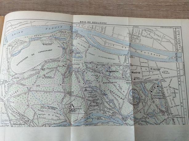 1923 r Paryż mapy