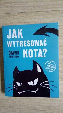 """Książka """"Jak wytresować kota"""" Dawid Ratajczak"""