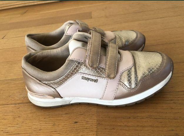 Кроссовки для девочки mayoral, ecco, geox, bartek