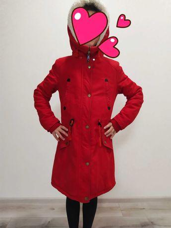 Парка куртка для девочки