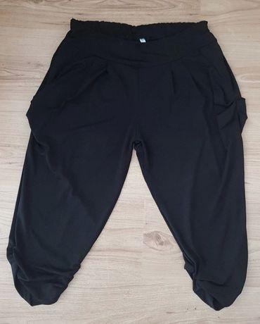 Nowe Spodnie alladynki haremki lekkie na lato letnie XXL plus size