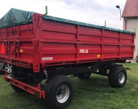 Przyczepa ciężarowa rolnicza wywrotka PRD36 6T Producent