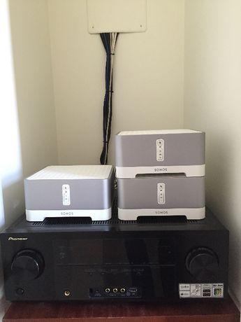 Amplificador Pioneer|2x SONOS CONNECT Amp |Sonos Bridge (Vendo/Troco)