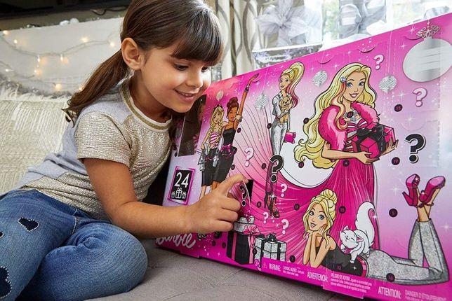 """Адвент - календарь Барби с куклой """"Модница"""" Advent Calendar Barbie"""